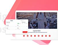 Redesign E-Salaam Website