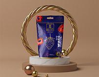 Dried Fruit Packaging Design