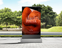 Outdoor Advertisement Billboard Poster Mockup Free