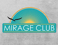 Mirage Club Menu and Branding Design - Restaurant