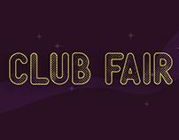 Club Fair Branding
