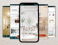 HAYSE / UX/UI Design
