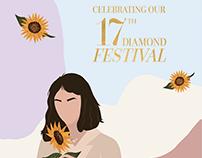 Kayali 17th Diamond Festival Campaign