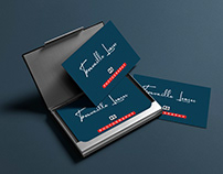 Simple Signature Business Card For Photographer