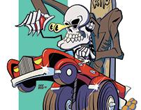 Skull rider