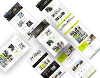 Interior Design & Architecture PSD Template