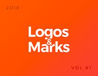 logo collection 2018 | Trending logos & Marks
