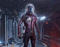 RAVAGER - Guardians Of The Galaxy (Fan Art)