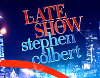 CBS The Late Show with Stephen Colbert Promos