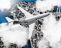 Boeing 727 Manhattan Flight