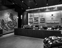 PROJECT STARBUCKS RESERVE- THE SIREN MURAL