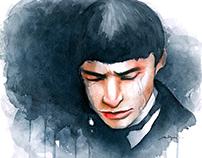 Watercolor Portrait: Credence Barebone