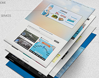 Air Conso Web Design