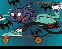 diseño tabla de skate en venta