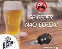 Se beber, não dirija! (App Beba+)