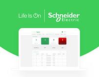 Schneider Dashboard Design