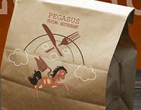 Pegasus (flying restaurant) logo