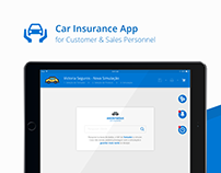 Car Insurance App (Customer & Sales Personnel)