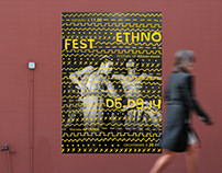Posters for festifal ethnic music