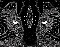 Wilk i Jeleń, ilustracje