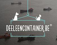 Deeleencontainer - Branding, Animation & Web design