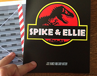 Jurassic Park Wedding Invitations