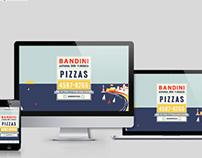 Bandini Pizzas / Web
