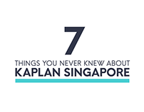 Seven Things: Kaplan Singapore
