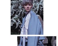 Lookbook design for 2017 KU fashion final project