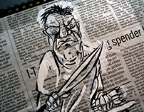 Newspaper Illustrations