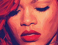 5000 shapes of Rihanna