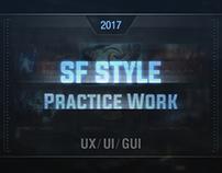 SF UI Work (etude)