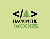 Hack in the Woods Logo