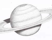 Stippling - Jupiter