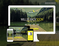 Free: BehindMe – Responsive Coming Soon HTML Template