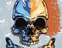 Skull Illustration 2016.