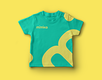 Branding for kid's clothes online store mimiko