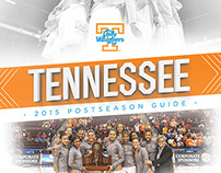 2015 Lady Vol Postseason Media Guide