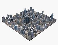 Cityscape render