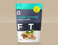"""FSTK"" Peanut Package Design"
