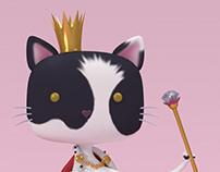 Queen Flor   3D illustration