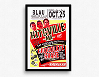 Hitsville MA - Gigposter