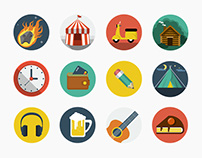 Flat Icons collection