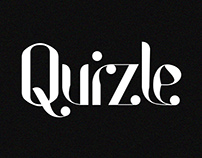 Quizle Display Font