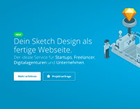 "Web Design ""sketch2html.de"""