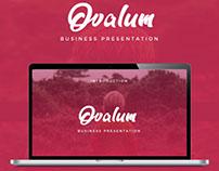 Ovalum - Business Google Slide Template