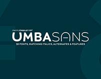 Umba Sans   FREE Bold Style