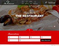 Custom restaurant WordPress theme design by Nexstair