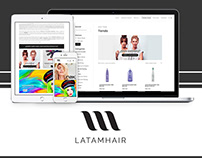 Latamhair - Diseño Web
