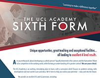 The UCL Academy Sixth Form - 2016 Advertising
